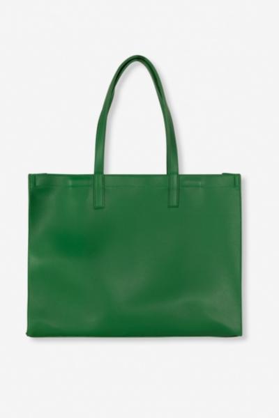 Tas vegan leather green