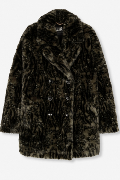 Coat faux fur