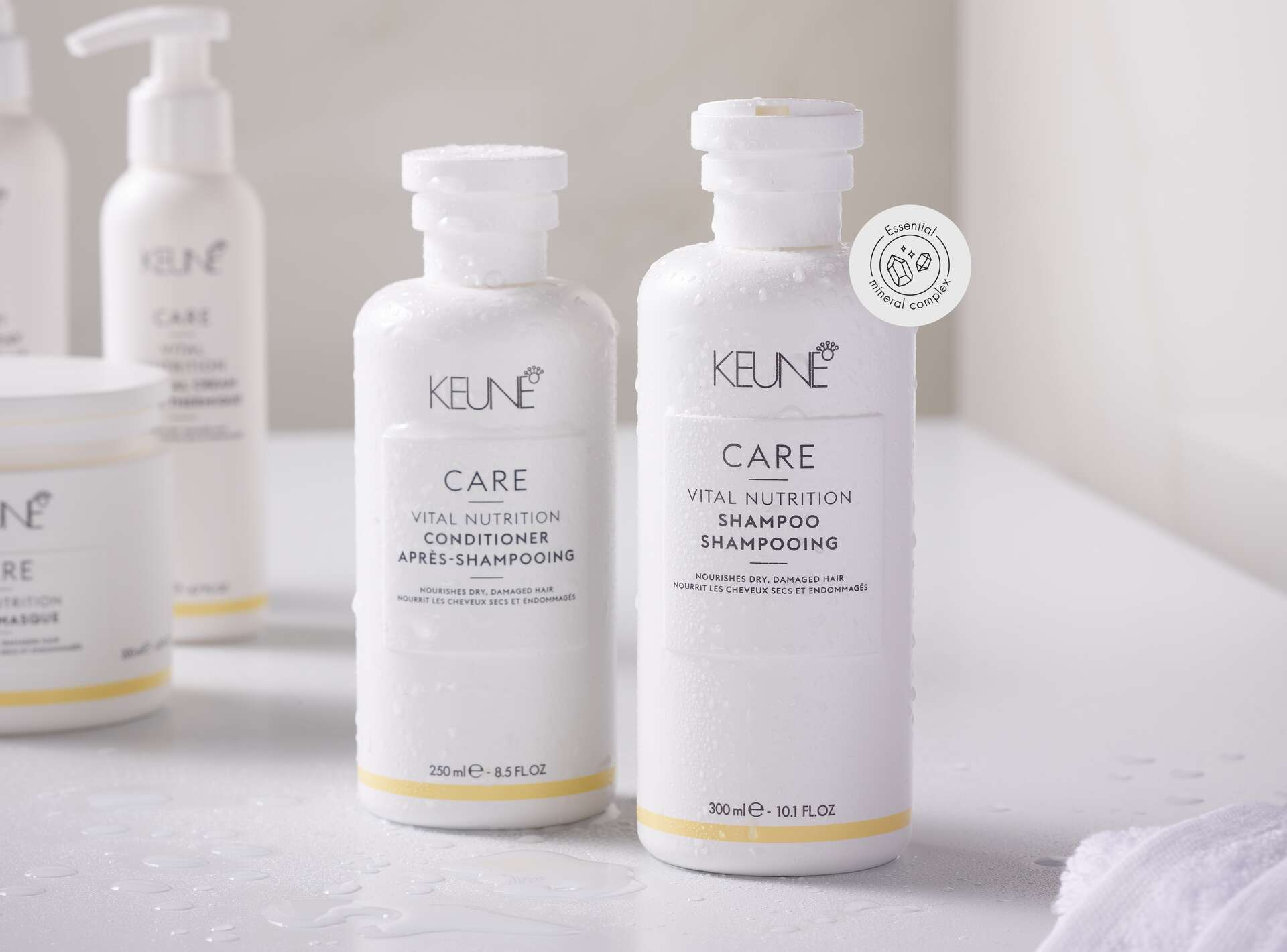 page hero 1920x1420 medium-Keune-Care-Vital-Nutrition-Shampoo-Conditioner-Lifestyle-v2-API1
