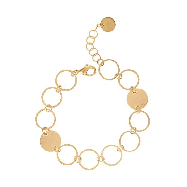 Armband grote ronde schakel