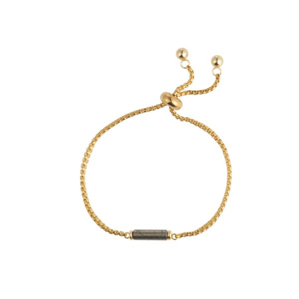Armband met gemstone buisje
